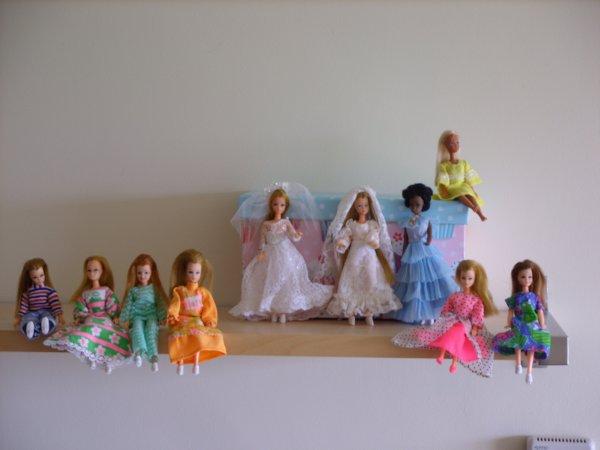 Retour des mannequins sur mon blog principal...