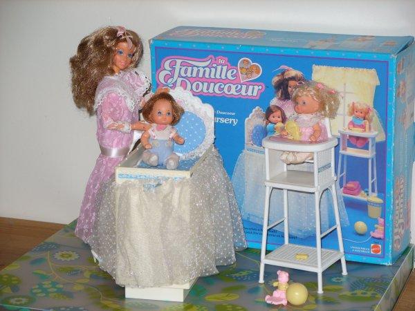 La Famille du Coeur - The Heart Family - Mattel