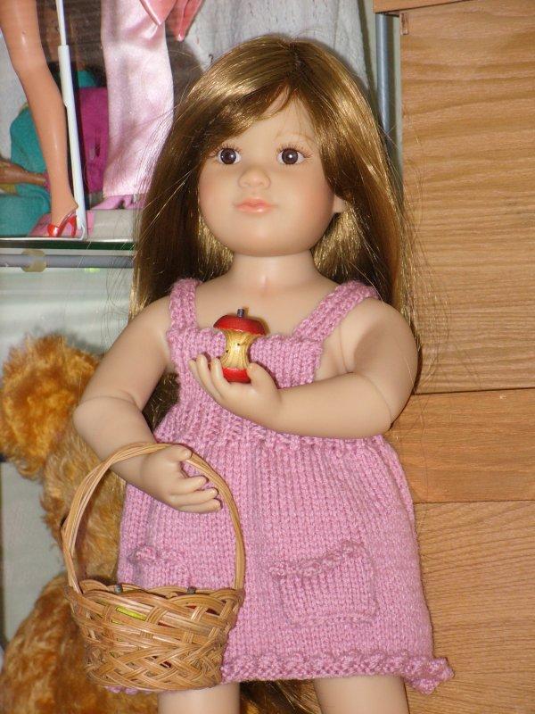 Petite robe tricotee...
