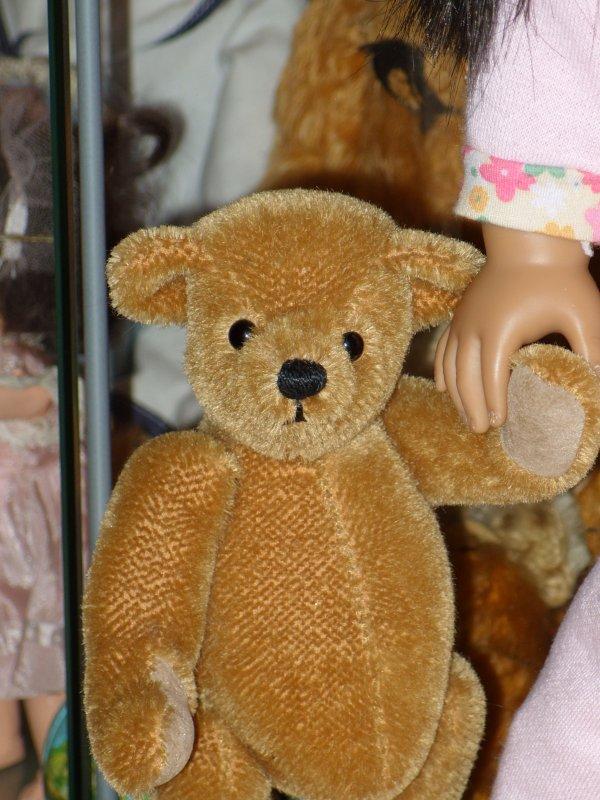 American Girl et Dean's Rag Bear...