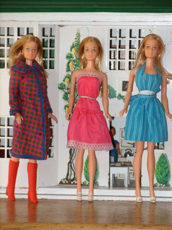 Trio de Barbie...