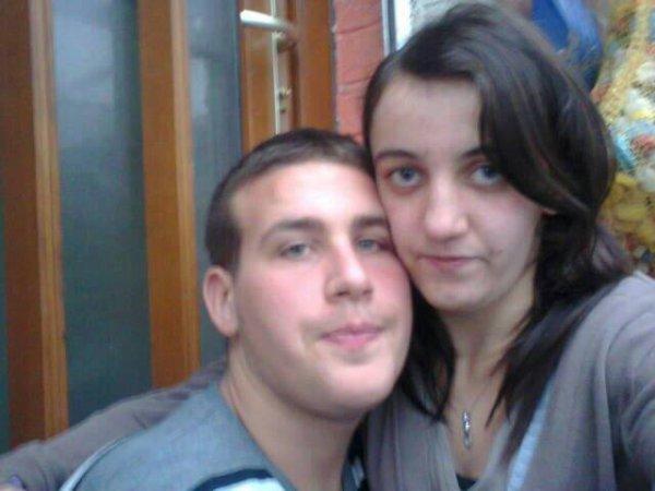 mon homme et moi je t'aime je veu pas perdre tes toute ma vie