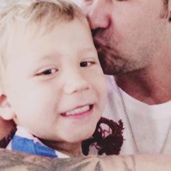 Jaxon et Jeremy Bieber