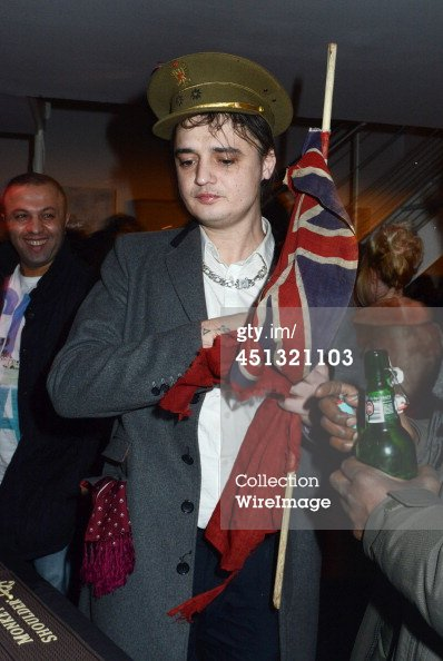 PETE DOHERTY EXPOSE SES ¼UVRES À PARIS