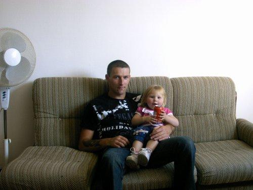 mon copain et notre fille ines