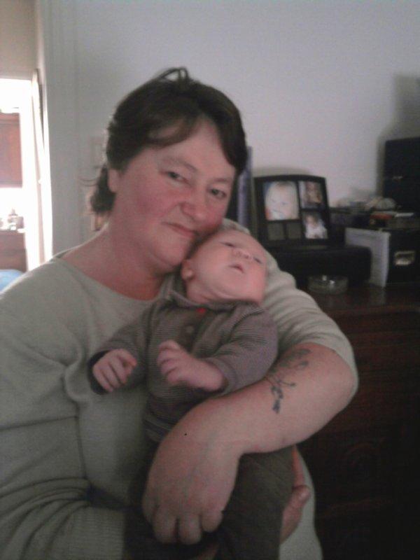 miguel avec sa mami danielle