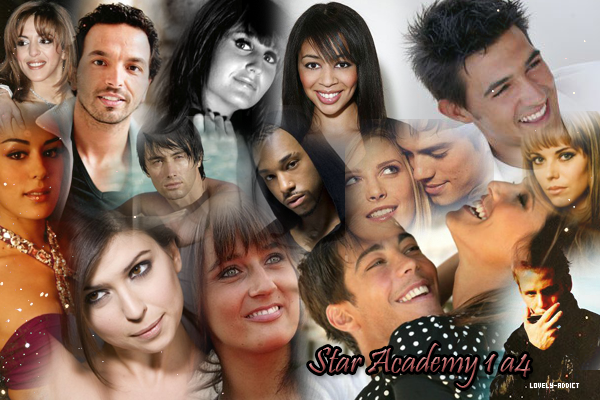 Star Academy ( Starac' Saison 1 à 4 ) Créa