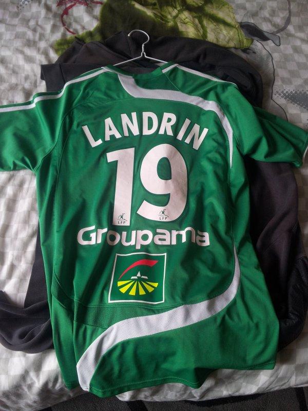 maillot 2007-2008 domicile de christophe landrin