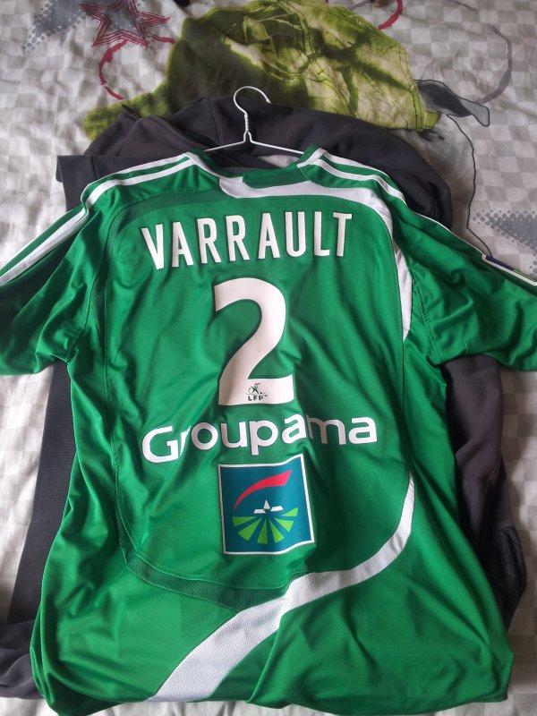 maillot 2007-2008 domicile de cédric varrault