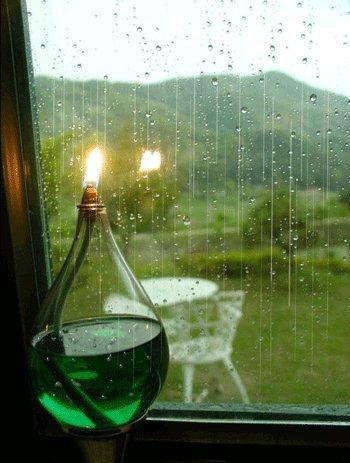 رائحة المطر