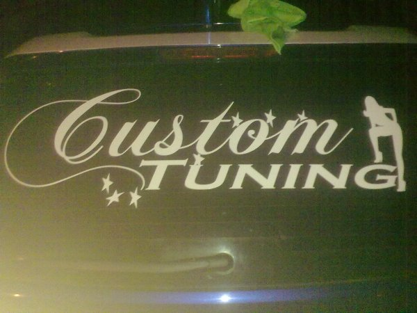 bibiche en mode CUSToM TUNING TEAM