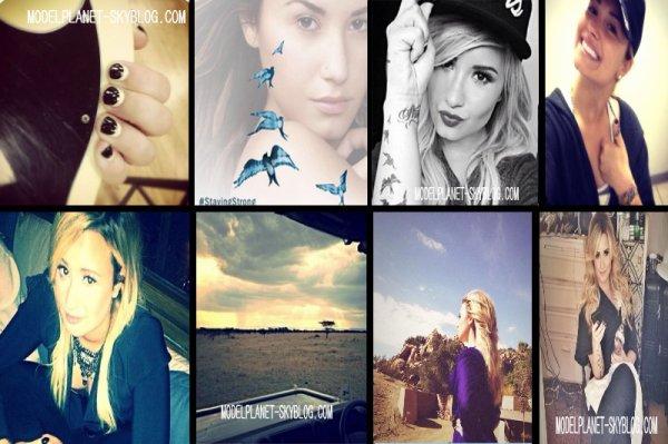 Demi Lovato a posté de nouvelles photos cette semaine sur son compte Instagram