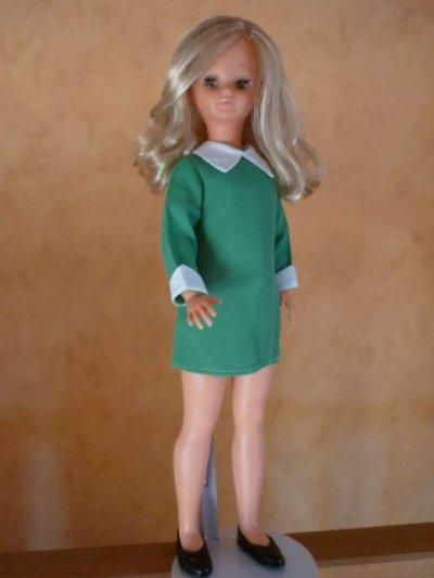 Betsie en robe de présentation