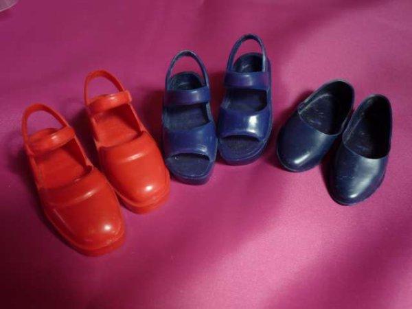 Les chaussures de Corinne et les chaussures de Fanny