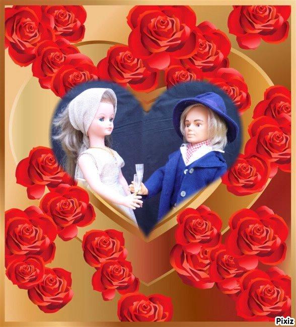 Cathie et Jerry ... Valentin & Valentine