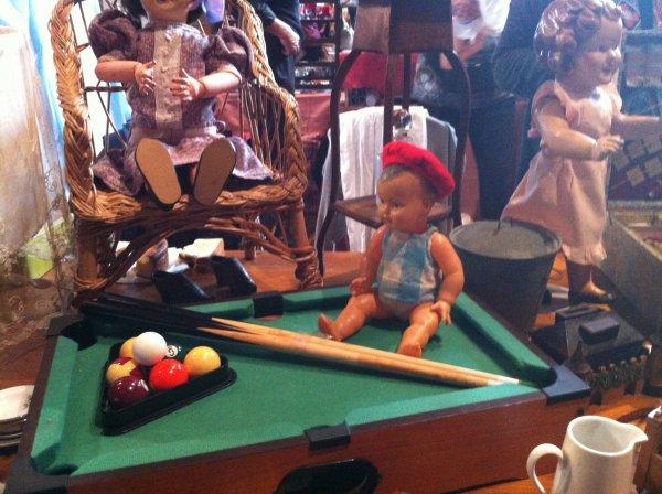 Salon du jouet ancien de Betton le Week end dernier
