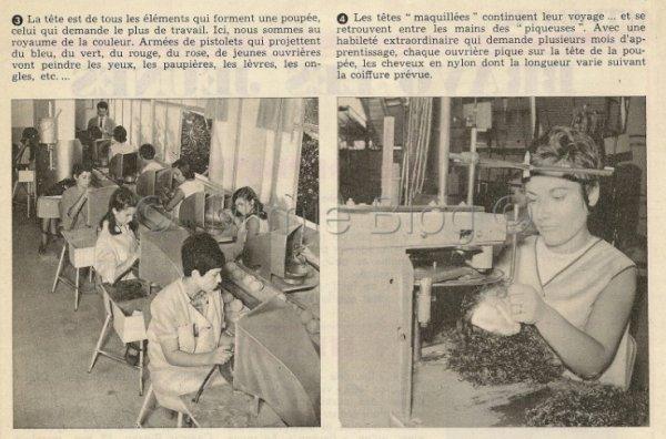 Suite article sur Betsie : Fabrication d'une poupée Bella