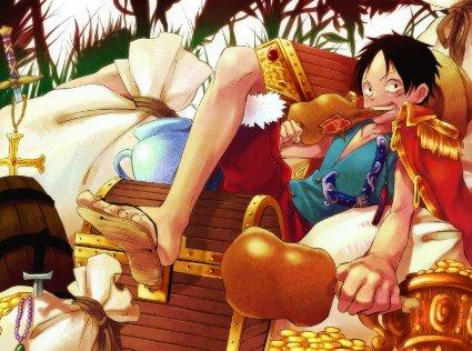 Luffy à l'honneur oji