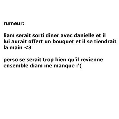 rumeur♥