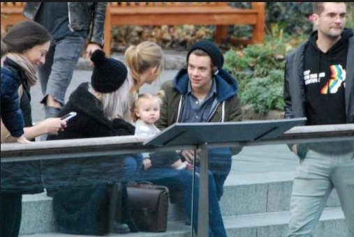 harry and taylor sur central park !!