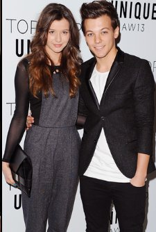 louanor au fashion weeks qui c'est derouler à londres