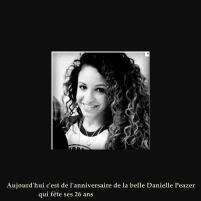 Happy Birthday Danielle Peazer ♥