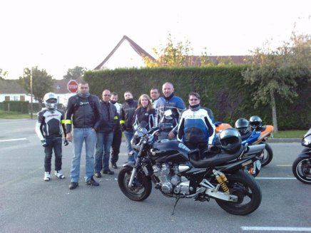 Motoland Amiens, froid mais quelle ambiance !!!!!