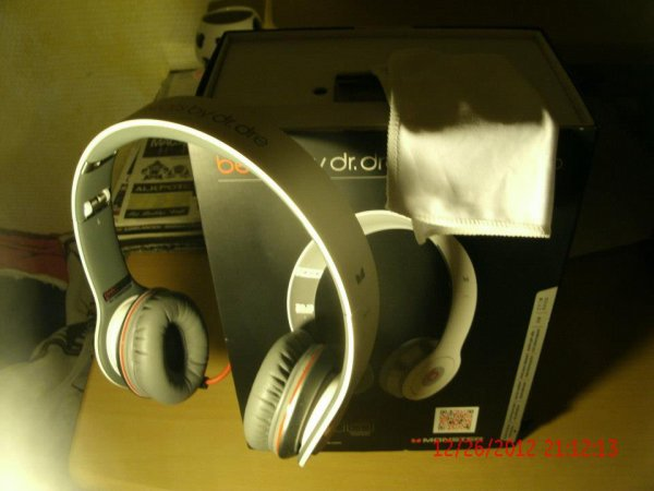Casque beats by dre blanc