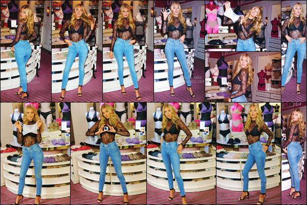 - 18/07/17 - Elsa Hosk était présente lors du lancement de la collection « Victoria Secret Tee-Shirt Bra » à New York ! Elsa portait une tenue simple mais qui était sublime, je suis fan de son haut. L'ange VS était en compagnie de sa meilleure amie Sara Sampaio - avis ?-[/alig fen]