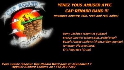 Cap Renard Band (NOS DATES DE SHOW)