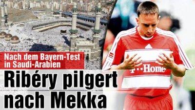 Footballeurs Musulmans » *Franck Bilal Ribéry* - Blog de moaddu06