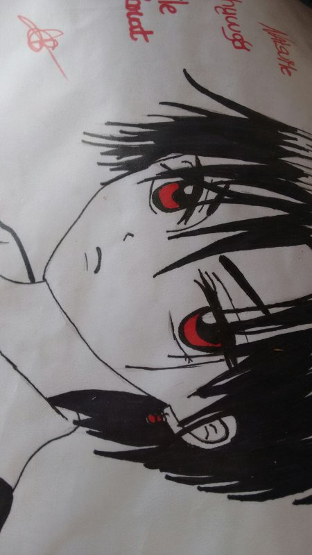 Trois dessin de Gakuen Alice fait par mes soins j'espère qu'il vous plaisent
