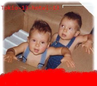Bill et Tom quand ils etaient enfants