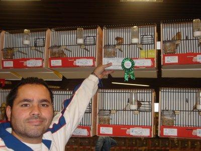 FOTO CON EL 3 PREMIO EN FAHEO AMARILLO INDIVIDUAL, I INTERNACIONAL 2010