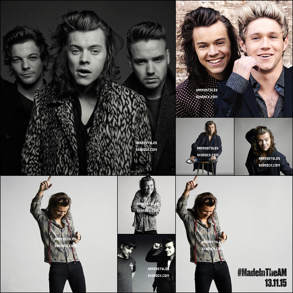 Découvrez le photo-shoot pour l'album Made In The A.M !