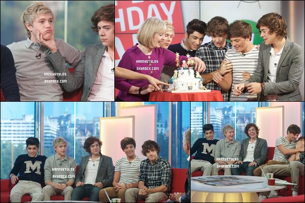 13.09.2011 - Les One Direction sont les invités de l'émission DayBreak Interview !