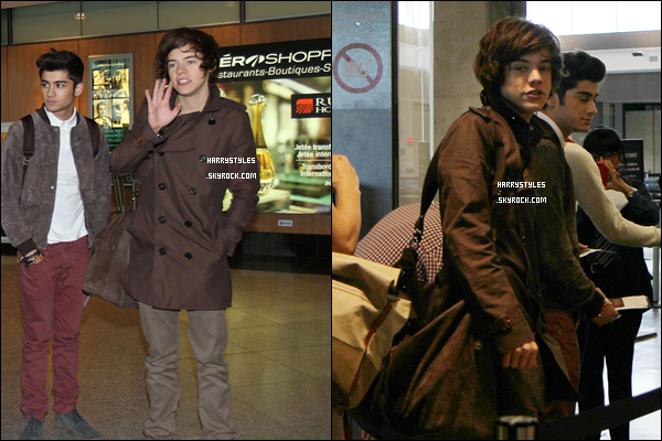 March 27th - At tha airport in Montreal, Canada