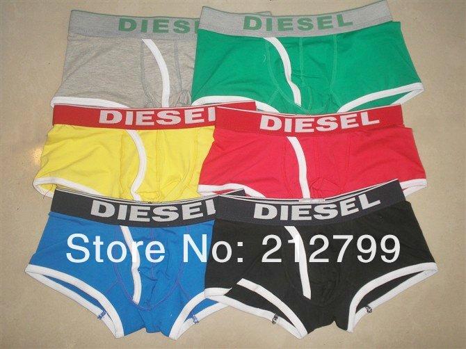 Boxer Armani, Calvin Klein & Diesel