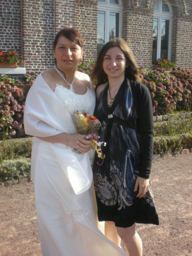 ma mere et moi !!