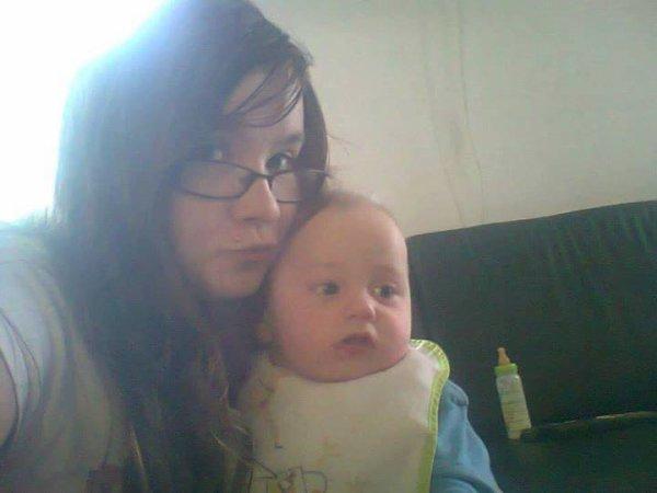 mon fils theo et sa cousine laureen