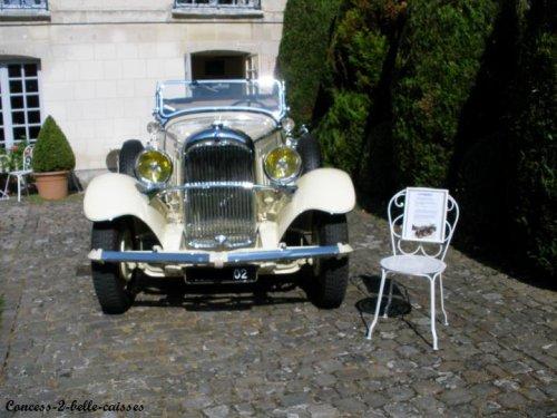 Les journées du patrimoine Septembre 2009 : Citroën C6 Roadster de 1931 entiérement restaurée (18 ans)