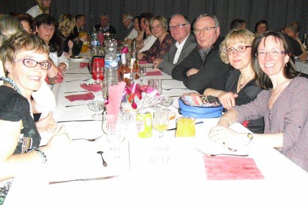 repas du club Léo Lagrange Mars 2016