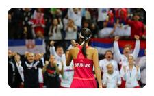 Finale de la Fed Cup 2012 : République Tchèque / Serbie