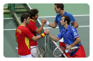 Finale de la Coupe Davis 2012 : République Tchèque / Espagne