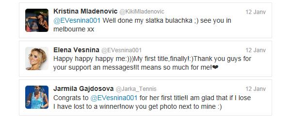 Tennis Tweets #1