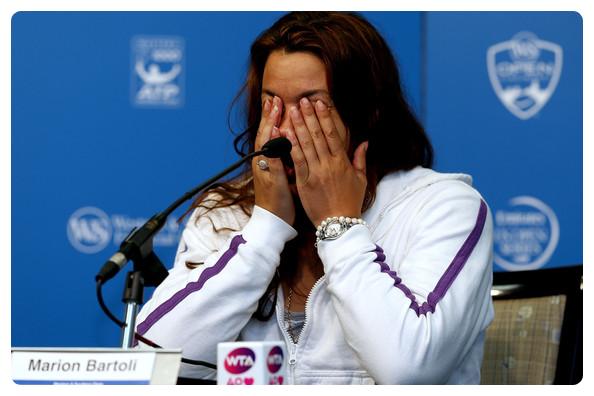 Marion Bartoli met fin à sa carrière !