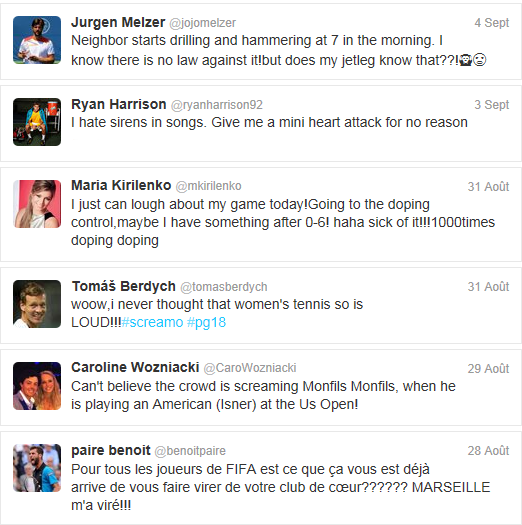 Tennis Tweets #2