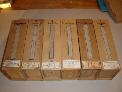 container en carton pour 20 boites de cartouches 7.92