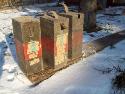 caisse en bois pour pour cartouche super perforante SMK H