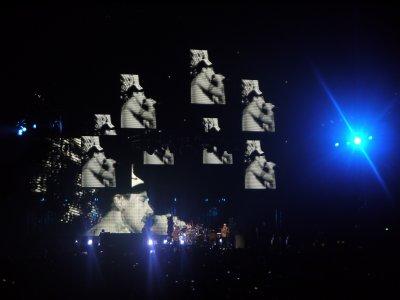 Quelques photos du concert des Red Hot Chili Peppers